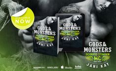 Smut Fanatics: Gods & Monsters by Jani Kay Release Day Blitz & Giveaway!!