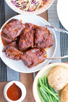 slow cooker bbq beef short ribs