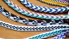 Loop Braiding A no-equipment textile technique for braiding cords and bands Finger Weaving, Viking Garb, Textiles Techniques, Finger Knitting, Craft Tutorials, Video Tutorials, Craft Ideas, Beaded Crafts, Diy Crafts For Gifts