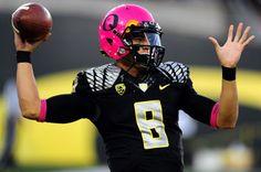 Oregon ducks breast cancer awareness