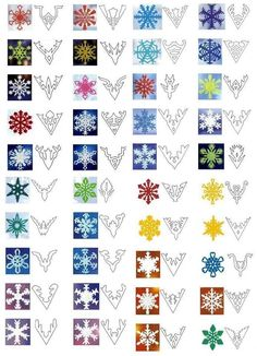 ) – A girl and a glue gun kid craft monday (snowflakes!) – A girl and a glue gun,Papiersterne Papierschneeflocken Related posts:- Holiday crafts inspiration creative Simple Quick Easy Knit Pullover. Paper Snowflake Patterns, Snowflake Template, Paper Snowflakes, Kirigami Patterns, Snowflake Cutouts, Snowflake Craft, Paper Patterns, Noel Christmas, Winter Christmas