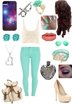 """""""Summer time"""" by missella101 ❤ liked on Polyvore"""