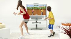 baby likes to wii