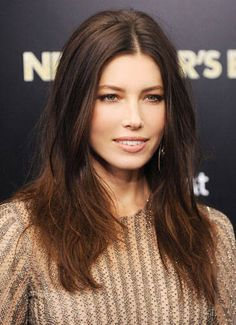 Jessica Biel and 14 other best brunettes in Hollywood—see who made the list here.