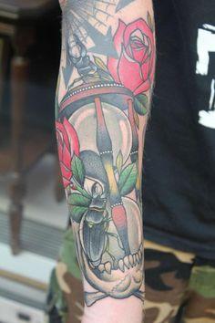 Tattoo by Robin Kvartsberg & Håkan Havermark