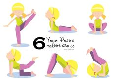 "6 Yoga Poses Toddlers Can Do (with a free printable) - Nerdy Mamma ♥ ♥ ♥ This activity is part of ADAM & Mila's collection of baby and toddler learning activities to help teach ""Standing"" and other important Gross Motor Skills https://www.adam-mila.com/milestones/gross-motor-skills/standing/"