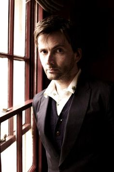 Make your living space brand new in two easy steps! Discard or upcycle your old boring curtains and put David Tennant by the window instead. 10th Doctor, Doctor Who, Beautiful Men, Beautiful People, David Tennant, Dr Who, Celebs, Celebrities, To My Future Husband