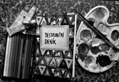 art, keri smith, and destrukcni denik image