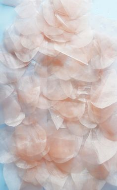 Project: Fragmented Identity Artist: Claire Louise Mckillop Textile art, layers of skin cells