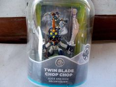 New Skylanders Swap Force Twin Blade Chop Chop Figure Activision Series 3 + Card #Activision