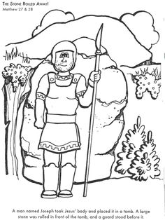 It Begins to Rain Bible coloring page for Kids to Learn