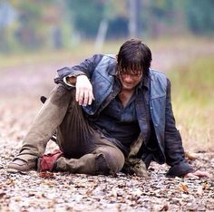 """The Walking Dead 4x13 """"Alone"""">>Feel real bad for Daryl, I'm sure he feels like he couldn't protect Hershel and now he's lost Beth. Poor Beth too, no telling what kind of assholes have her."""