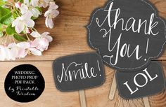 Printable Photo booth props, wedding photo booth chalkboard prop signs printable wedding props, chalkboard Printable Wisdom INSTANT DOWNLOAD by PrintableWisdom on Etsy https://www.etsy.com/listing/181443455/printable-photo-booth-props-wedding
