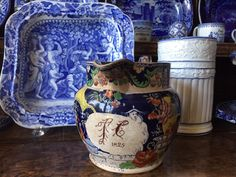 Dishy News - A Transferware Blog: NAMED AND DATED CERAMICS, RESEARCH, AND THANKS!