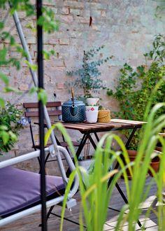 Byhus med have: Genbrug med charme - Boligliv