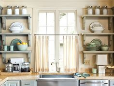 Sweet Kitchen Shelves Instead Of Cabinets : Open Kitchen Shelves Instead Of Cabis Ideas  Kitchen Shelves  Kitchen Shelves Instead Of Upper Cabinets Using Shelves Instead Of Kitchen Cabinets