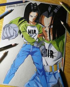 This guy who was created to kill Goku... Saved Goku & Vegeta.. He put aside all his wishes.. To help those who were his biggest enemies at a time.. Thats my man.. RIP Android 17  Art by: Mikky Drawings  #UltraInstinct #dragonball #dragonballz #dragonballgt #dragonballsuper #dbz #goku #vegeta #trunks #gohan #supersaiyan #broly #bulma #anime #manga #naruto #onepiece #onepunchman ##attackontitan #Tshirt #DBZtshirt #dragonballzphonecase #dragonballtshirt #dragonballzcostume #halloweencostume…