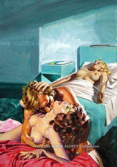 Telefilm Proibiti - Emanuele Taglietti, in Mark Alfrey's Italian Pulp Cover Art Comic Art Gallery Room - 902355