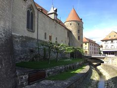 Yverdon-Les-Bains in Waadt