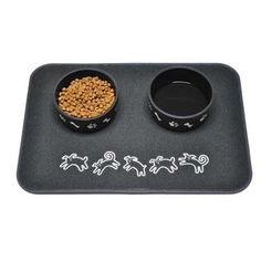 Shop our wide selection of dog bowls and feeding accessories. Build a special spot for your dog to have their dinner with our feeding mats and elevated bowls. Dog Food Mat, Pet Dogs, Pets, Food Bowl, Dog Feeding, Mold And Mildew, Dog Supplies, Dog Pictures, Dog Bowls