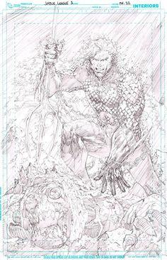 Sketch | Aquaman | Jim Lee