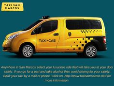 Cab service - Get your ride on time http://www.taxisanmarcos.net/
