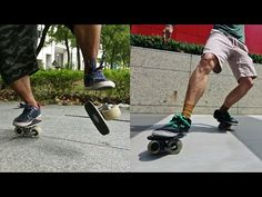 Kuma Films — Freeline Skates. If rollerblades and ripsticks had a baby, this is what they would look like. Kuma Films spent a day with Light and 曾昱暠 cruising the streets of Taipei, Taiwan on their freeline skates. These guys kill it on a longboard as well. www.kumafilms.com