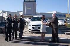 awarded reigning Miss India-Canada a brand new 2013 Chevrolet Spark this morning. Chevrolet Spark, Miss India, Asian Fashion, Reign, Canada, Brand New, Image, Royalty