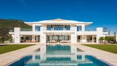 Villa Design, Modern House Design, Contemporary Design, Marbella Villas, Marbella Spain, Modern Mansion, Luxury Homes Dream Houses, Dream House Exterior, Next At Home