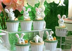 Rabbit Theme Birthday Party Ideas | Photo 1 of 21 | Catch My Party