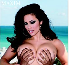 ASHLEY Graham is a sex appeal veteran, but her latest spread for Maxim might be her most intimate to date. The brunette bombshell ditched her bra in favor of her husband's mitts in one red hot shot, which sees her modesty is protected in the most provocative way possible. Because who needs a bra when…