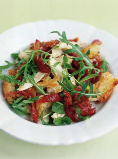 Chicken & Pancetta Salad | Chicken Recipes | Jamie Oliver Recipes