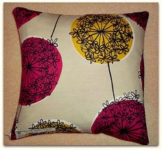 Cushion cover pillow cover John Lewis Allium by PSInteriorsUK, £7.95