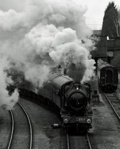 A great western railway steam locomotive thundering its way out of Loughborough Central on the Great Central Railway in Leicestershire.GWR 'City of Truro' Steam Loco by jvoycephoto.deviantart