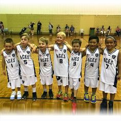 Check out how good the junior looked in their new gear. Smiles all round! Basketball Season, Basketball Uniforms, Team Wear, Basket Ball, Team Player, Team Photos, Team Logo, Activewear, Coaching