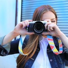 Pin for Later: DIY: Cool Camera Strap