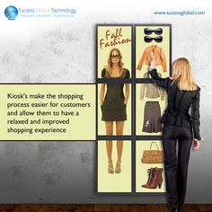 #Kiosk's make the #shopping process #easier for #customers and allow them to have a relaxed and #improved #shopping #experience. #TucanaGlobalTechnology #Manufacturer #HongKong