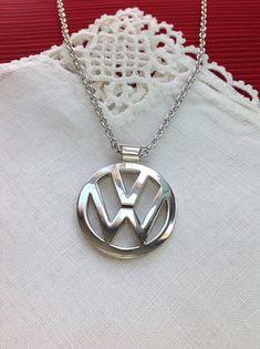 De tegenhanger van de Volkswagen VW embleem roestvrij staal