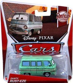 Disney Pixar CARS Movie 155 Die Cast Car Dusty RustEze Rusteze Racing 18 Click