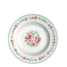 GreenGate Small Plate June White