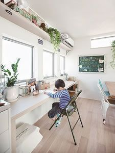 workroom and craft rooms Space Crafts, Craft Space, Craft Rooms, Interior Decorating, Interior Design, Small Studio, Folding Chair, Kidsroom, Office Desk
