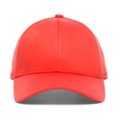 Acne Studios Satin Camp Hat in Orange ($130) ❤ liked on Polyvore featuring accessories, hats, cap, orange, cap snapback, snap back cap, orange snapback, snapback hats and snap back hats
