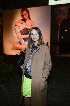 Candela Novembre at KATIE GRAND ♥ HOGAN Fall - Winter 2013/14 event in Milan.
