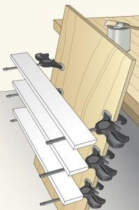 I took a large scrap of plywood and attached one-handed bar clamps along the edges. In no time, I had an impromptu drying rack. Be sure to t...