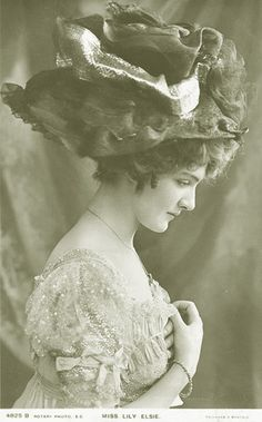 Actress, Lily Elsie