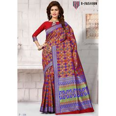 Attractive Red Color Pure Banarasi Silk Sarees at just Rs.3500/- on www.vendorvilla.com. Cash on Delivery, Easy Returns, Lowest Price.