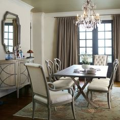 Bernhardt Marquesa Rectangular Dining Room Set In Gray Cashmere By Dining  Rooms Outlet