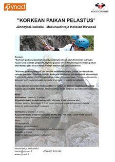 Jännitystä kalliolla - Makunautintoja Hollolan Hirvessä