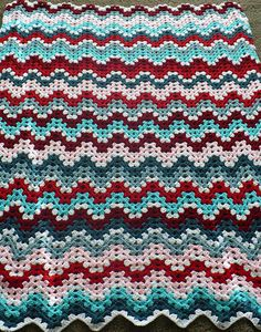 Granny Ripple Afghan, free pattern by Project Linus, classic yet stunning: thanks so xox