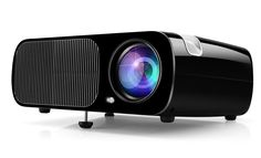 Ogima BL20 Video Projector,2600 Lumens Home Cinema Theater 5.0 Inch LCD TFT Display 1080P HD 3D with 1-year warranty